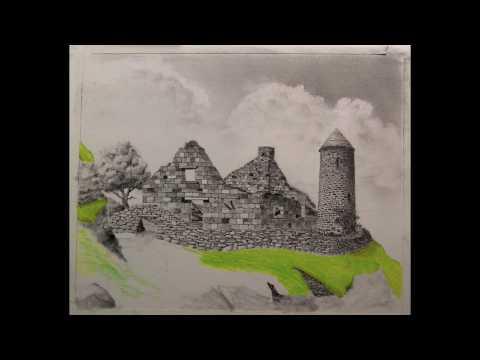 Drawing The Irish Cottage