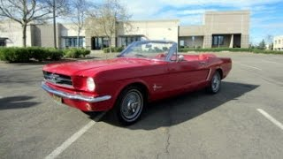 1965 Ford Mustang Convertible on GovLiquidation.com