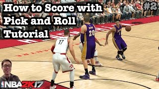NBA 2K17 Tips Best Pick and Roll 2K17 Tutorial. How to play NBA 2K17 Pick and Roll Tutorial #2