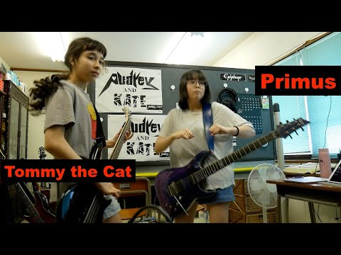 #Primus - Tommy the Cat - guitar + bass - cover #プライマス