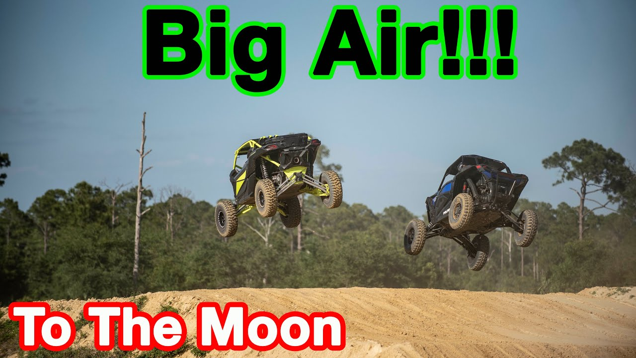 Catching Big Air In My Can Am X3 With The Boys