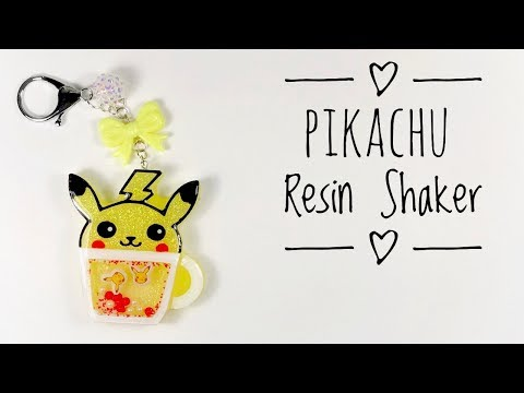 Pikachu Resin Shaker | Watch Me Resin