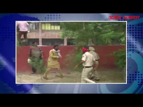 बठिंडा : बेरोज़गार ईटीटी टेट पास टीचरों पर पुलिस ने किया लाठीचार्ज