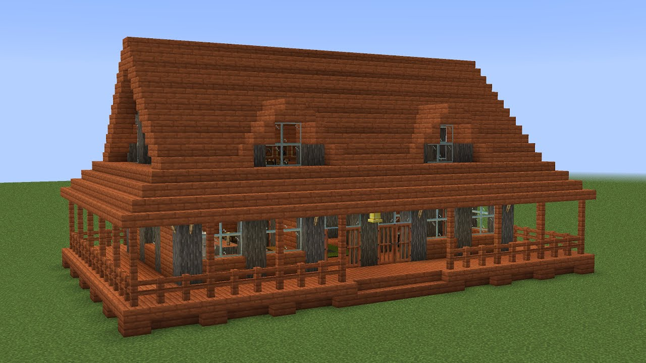 Minecraft - How to build an indonesian house