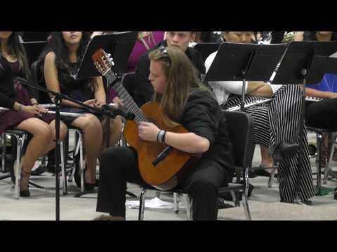 Imperial High School Guitar Soloist                        05 22 2017