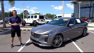 Is the 2019 Cadillac CT6-V Blackwing the ULTIMATE full size performance sedan?