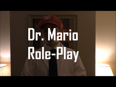 ASMR/Whisper: Dr. Mario Medical Exam/General Check Up Role-Play