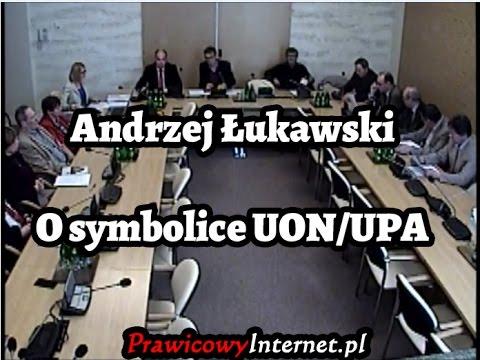Andrzej Łukawski o Symbolice UON / UPA