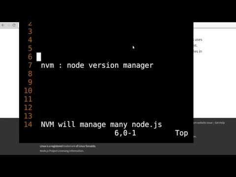 history and current methods to install node.js on ubuntu 16 - NVM