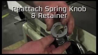 JET Jointer - Cutter Head Guard Adjustment Mp3