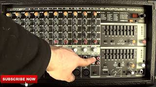 (Pt.1) The Behringer Europower PMP 2000D