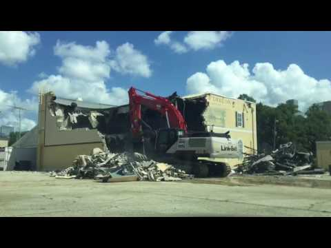 House of Dereon and Music World Entertainment Demolition