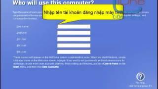 Hướng dẫn cài đặt hệ điều hành Window XP Professional (phần cuối)