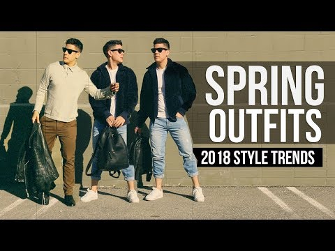 MEN'S SPRING STYLE 2018:  FASHION LOOKBOOK | JAIRWOO
