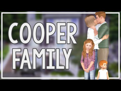 The Sims 3 Current Household: The Cooper Family (August 2016)