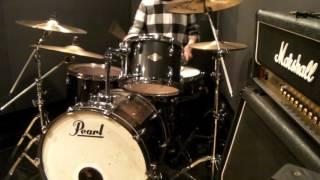 「オカルティック・ナイン」OPテーマ「聖数3の二乗」 drum play