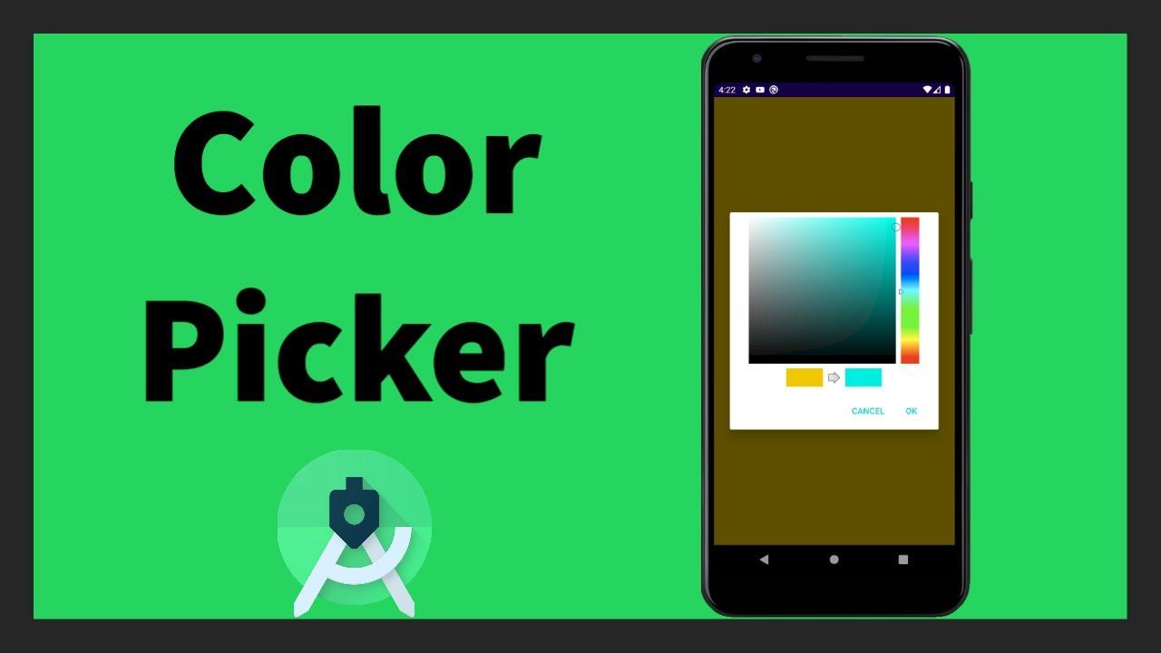 Color Picker | Android Studio