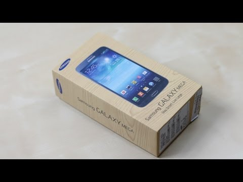 Unboxing: Samsung Galaxy Mega 6.3 (Deutsch) | SwagTab