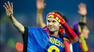 Иньеста: 20 лет в «Барселоне»