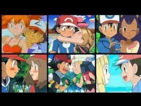 Pokemon All Kiss Scenes Montage | LaYzeeRaY