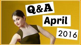 Am I Single? Vegan Diet? April Q&A 2016 | Kathryn Morgan