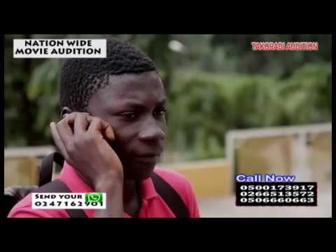 GHANA MEDIA ON TAKORADI MOVIE AUDITION