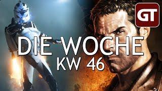 Thumbnail für Battlefront 2, Season-Pässe & Gewalt im echten Leben – Die Woche KW 46 – GT-Talk #70