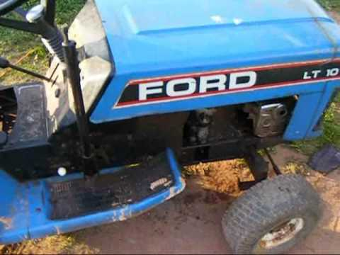 Ford lawn tractor explodes YouTube