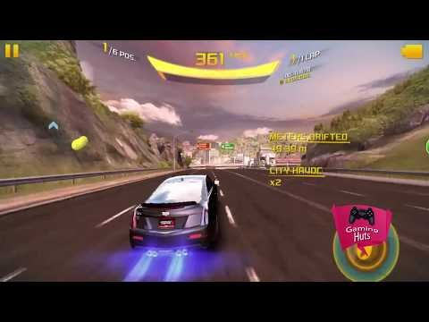 Asphalt 8 Cadillac ATS-V Coupe, Fastest Credits Farming Guide (Oceanview Derby) Windows Gameplay 669
