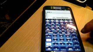 droid48 - HP 48 Scientific Calculator Emulator - Reverse Polish Notation