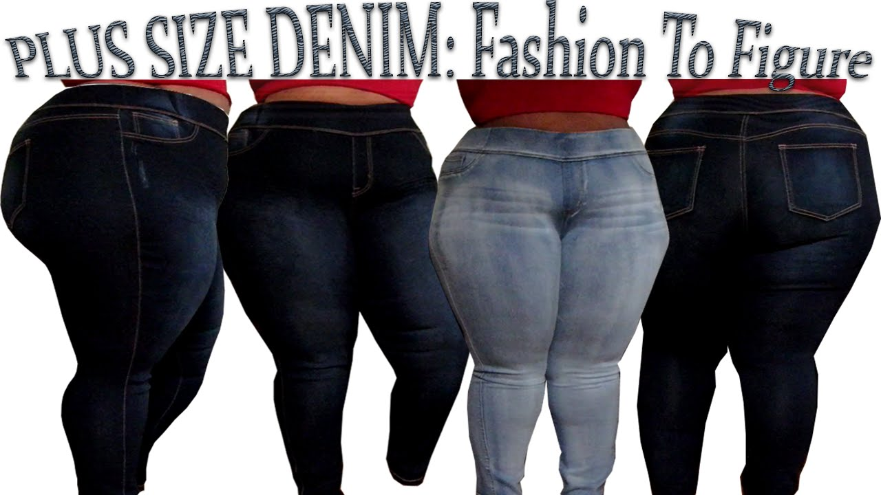 Best Plus Size Jeans | Fashion To Figure Try-On Haul ...