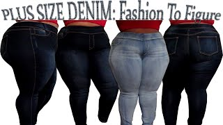 Best Plus Size Jeans | Fashion To Figure Try-On Haul | JustCallMeQuana