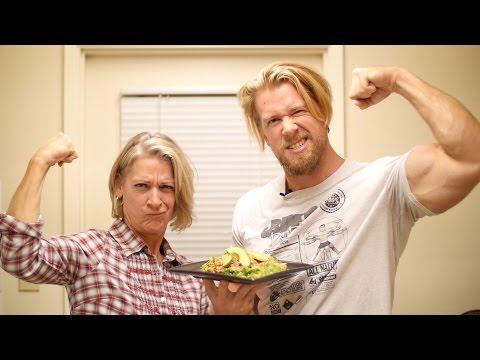 Chicken & Black Bean Taco Salad - Slow Cooker Recipe