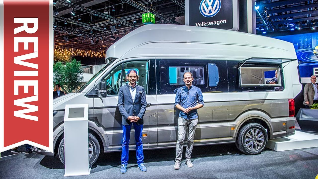 innenraum check vw california xxl crafter camper 2018 auf der iaa 2017 youtube. Black Bedroom Furniture Sets. Home Design Ideas