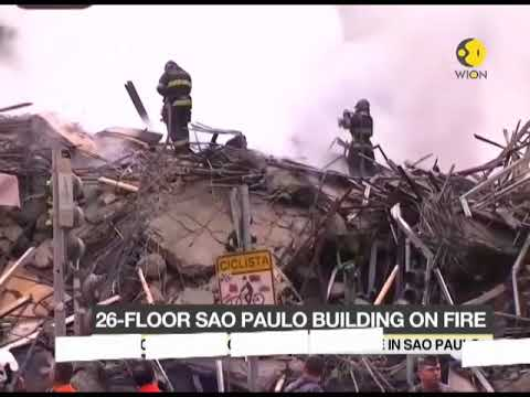 Brazil: Sao Paulo building collapses in huge fire