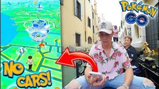POKÉMON GO IN A CITY WITH NO CARS! (PGO in Venice, Italy)