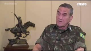 General Villas Bôas no programa de Roberto D'Avila da Globo News