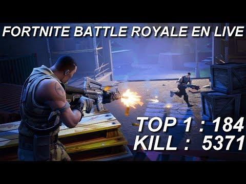 [FR/PC/LIVE] Fortnite  en solo 184 wins!