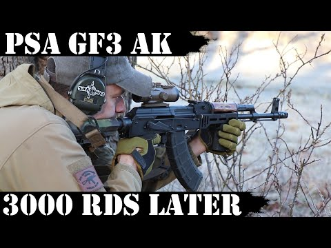 PSA Forged GF3 AK: 3,000rds Later!