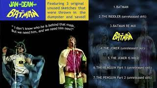 Jan & Dean Meet Batman: Unreleased Skits Saved From The Dumpster