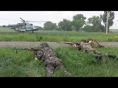Fighting rages in Kramatorsk as rebels clash with Ukraine troops