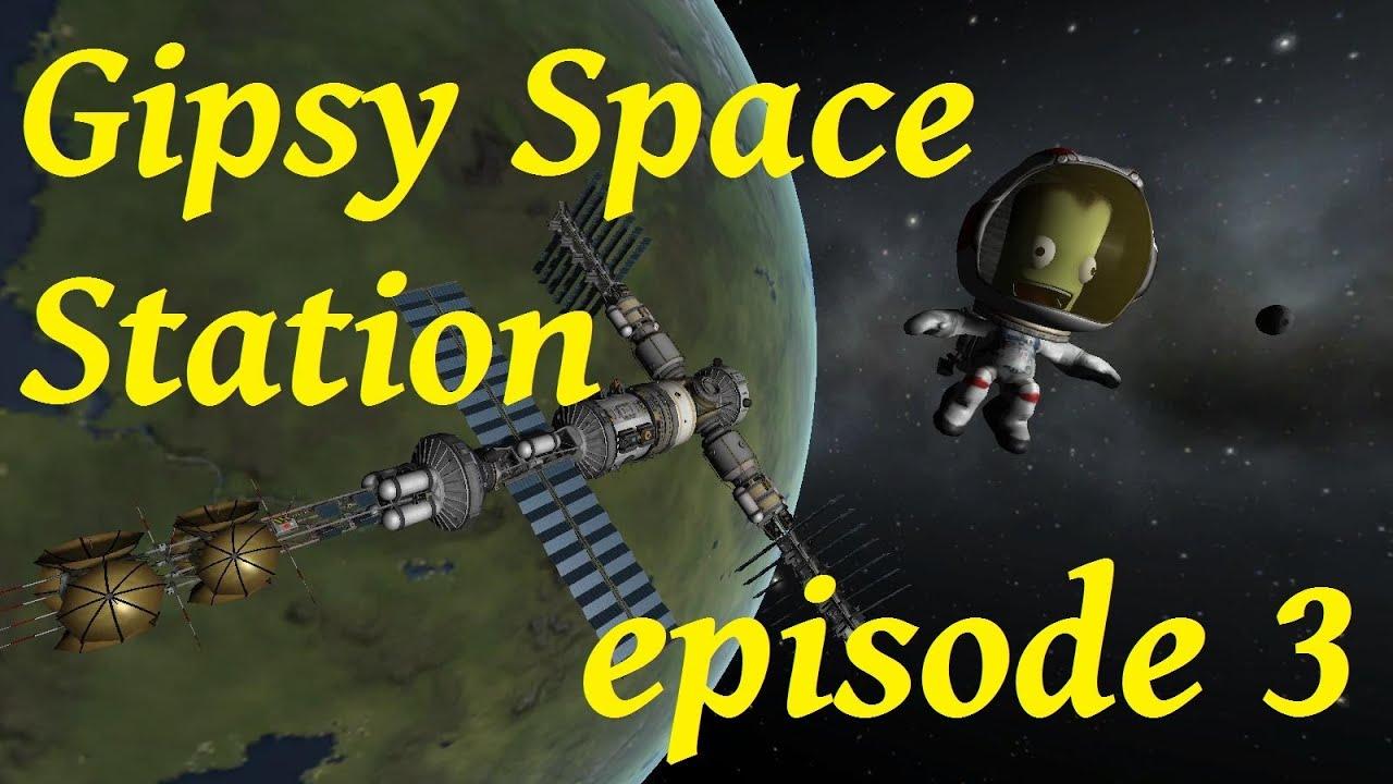 KSP : GipsyDanger Space Station module de communication
