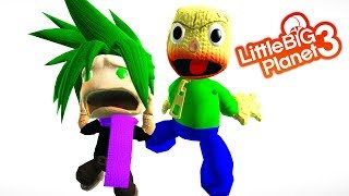 LittleBigPlanet 3 - If Hellbound Was In Baldi's Basic's (Funny Film) - LBP3 Animation