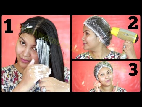 Hair spa/salon style hair spa at home in hindi/Indiangirlchannel trisha