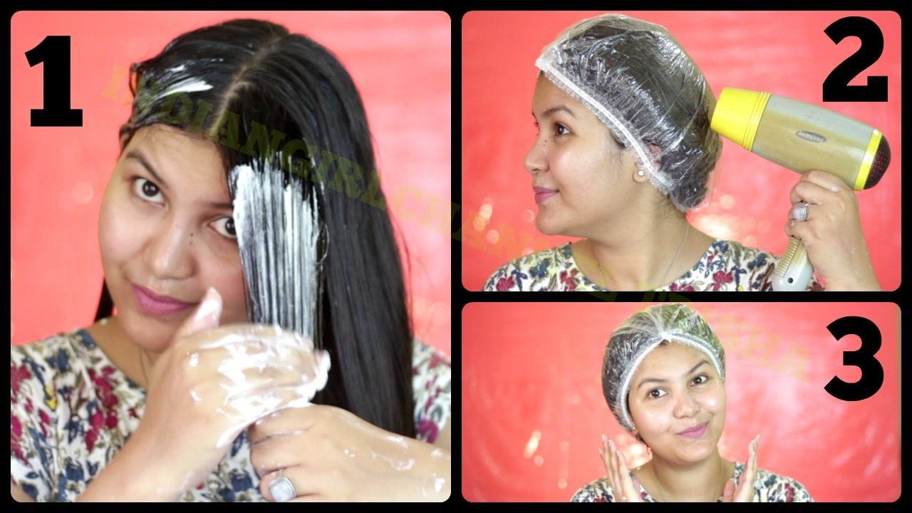 Hair Spa Salon Style Hair Spa At Home In Hindi Indiangirlchannel Trisha Youtube