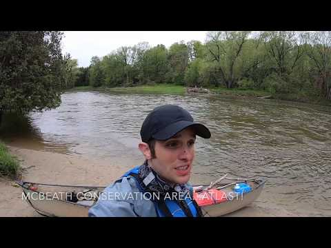 Saugeen River - Day 1 - Walkerton To McBeath Conservation Area