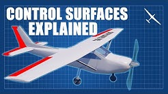 Aircraft Control Surfaces Explained | Ailerons, flaps, elevator, rudder and more