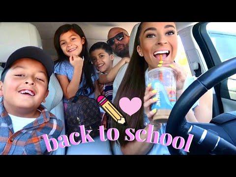 TARGET BACK TO SCHOOL SHOPPING FOR 3 KIDS + HUGE HAUL!♡