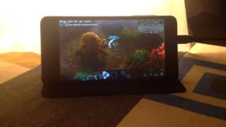 How I play Vainglory on my Android Device