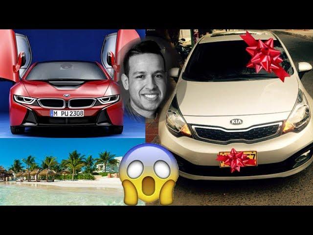 Los costosos regalos con los que Martin Elías sorprendió a su familia